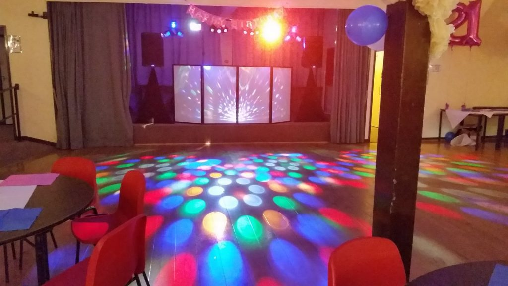 60th Birthday celebration - Llanyblodwell village hall - Happy Sounds Mobile Disco