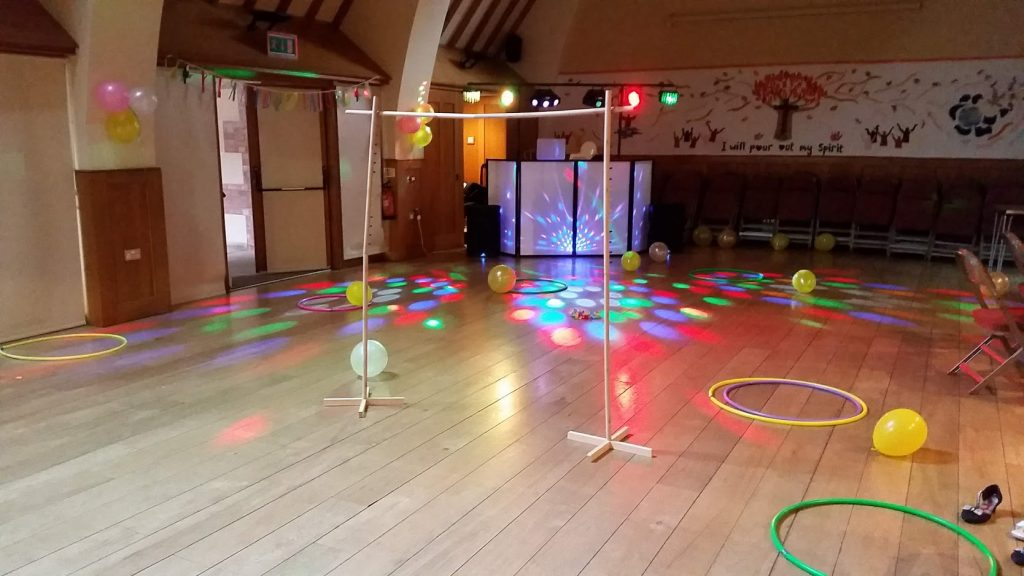10th Birthday Party (Complete with Limbo) - Trinity Church Centre, Shrewsbury. - Happy Sounds Mobile Disco