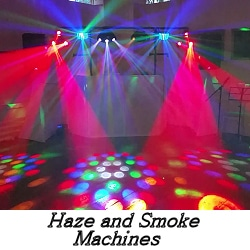 Haze and Smoke Machines - Happy Sounds Mobile Disco