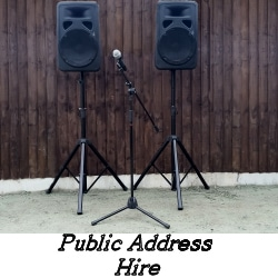 Public Address Hire - Happy Sounds Mobile Disco