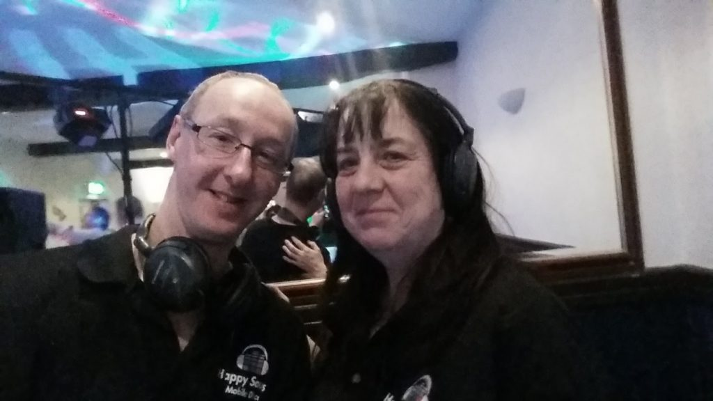About Dave and Belinda - The Happy Sounds Mobile Disco Team