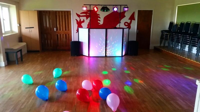 3 year old party - Black Park Community Centre, Chirk - Happy Sounds Mobile Disco