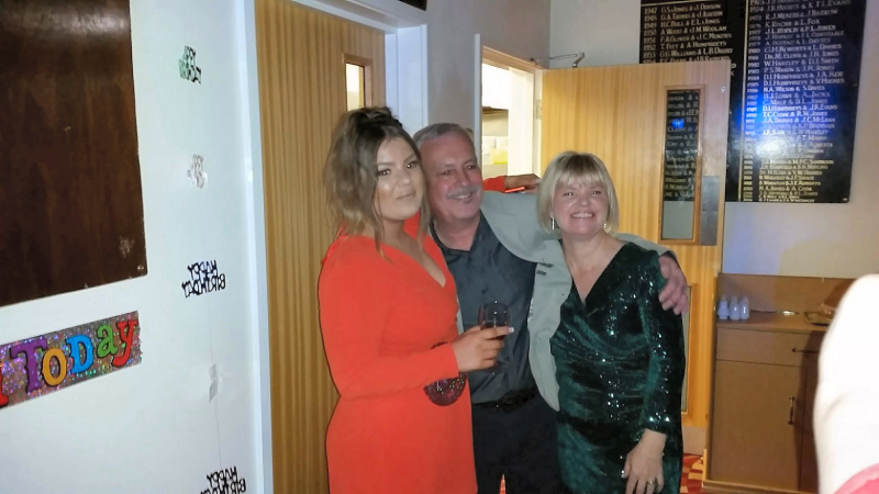 Combined 21st and 70th Birthday - Oswestry Golf Club - Happy Sounds Mobile Disco