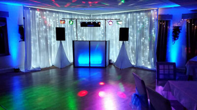 30th Birthday - Star-lit Backdrop - Henlle Park Golf Club - Happy Sounds Mobile Disco