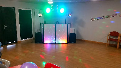 Child Disco - Party - Oswestry Gatacre Pavillion DJ - Happy Sounds Mobile Disco