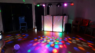 Children's Disco - Oswestry Gatacre Pavillion - Happy Sounds mobile Disco