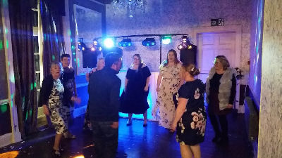 Wedding Reception - Dancing - Sweeney Country House Hotel - Oswestry - Happy Sounds Mobile Disco