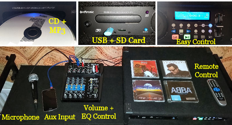 Equipment Hire CD PLayer - Happy Sounds Mobile Disco