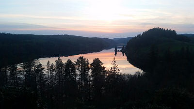 Sunset - Lake Vyrnwy - Happy Sounds Mobile Disco