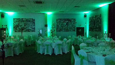 Uplighting - The Venue - Happy Sounds Mobile Disco
