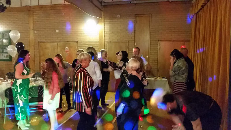 70th Birthday - Tregynon - Happy Sounds Mobile Disco