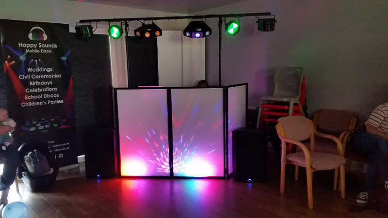 Child Party - Gatacre Pavillion Oswestry - Happy Sounds Mobile Disco
