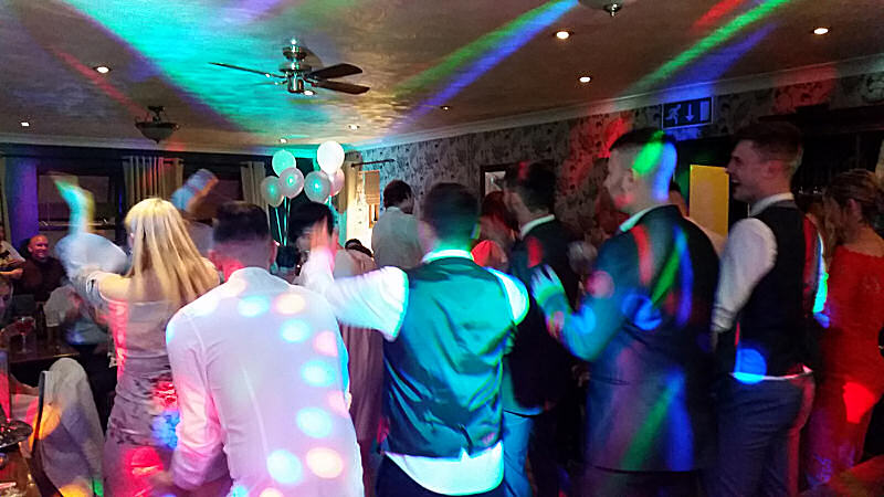 Wedding - Pink Colour Wash - Marquee - Happy Sounds Mobile Disco