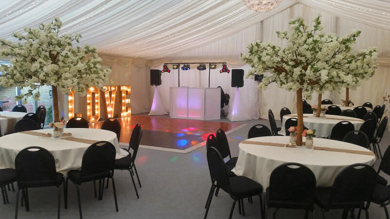First Dance - Wedding - Marquee - Old Rectory Wem - Happy Sounds Mobile Disco