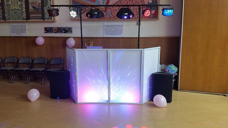 5th Birthday Party - Memorial Hall Oswestry - Happy Sounds Mobile Disco