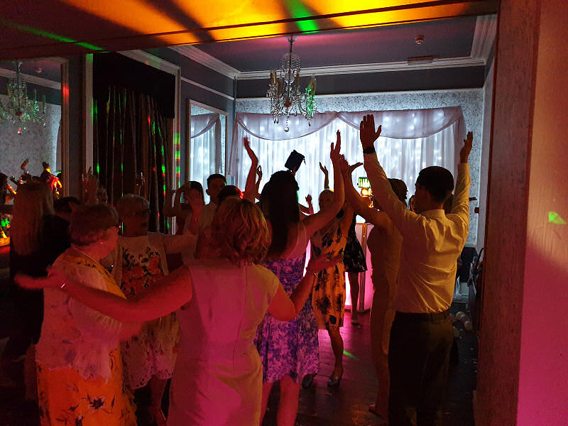 Wedding - Sweeney Hall Oswestry - Happy Sounds Mobile Disco